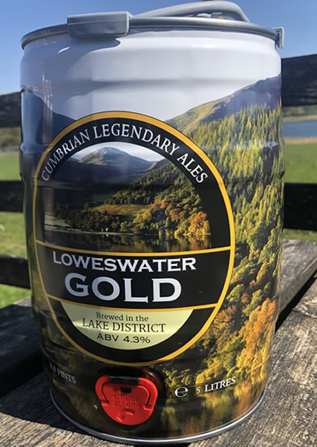 Loweswater Gold (5 Litre Mini Cask)