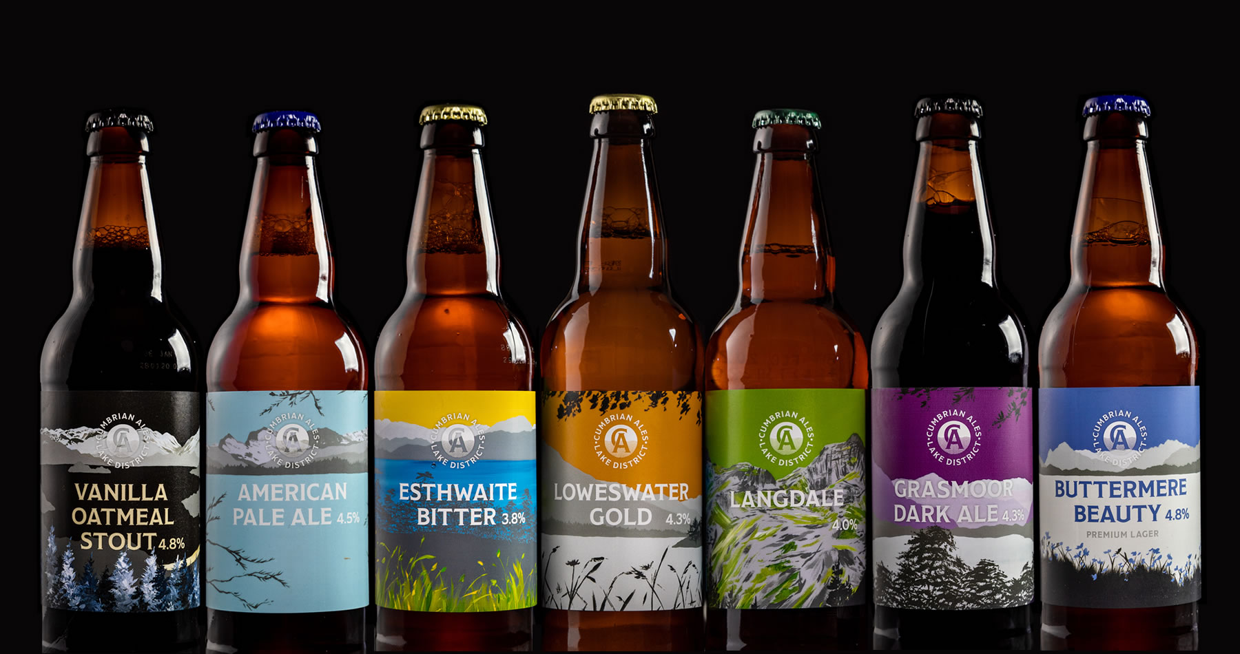 Cumbrian Ales Range of Beers